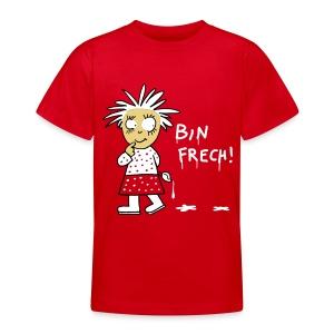 Bin frech /Kinder - Teenager T-Shirt