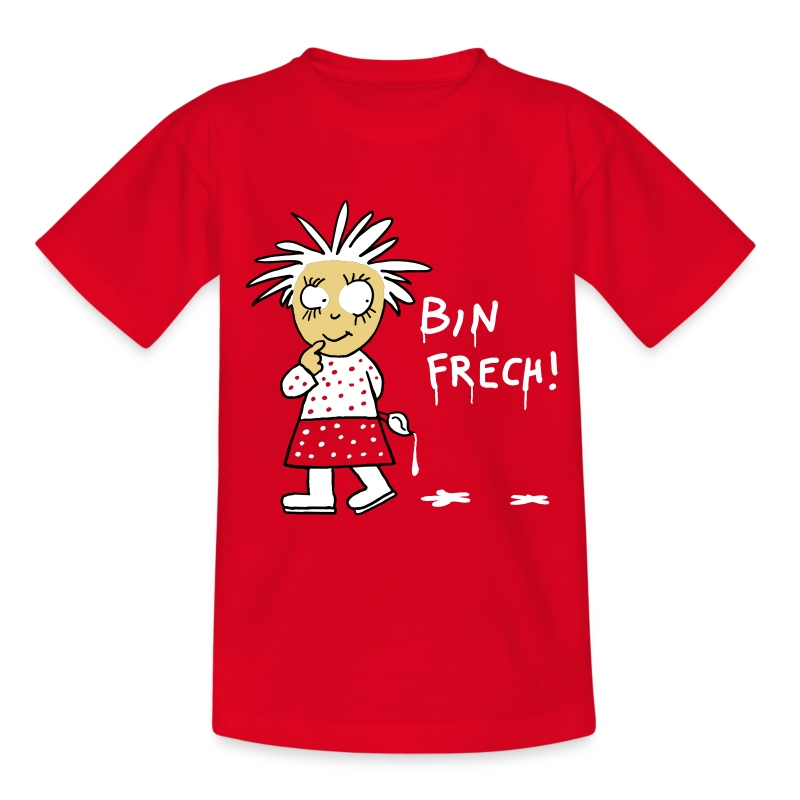 Bin frech /Kinder - Teenager T-Shirt