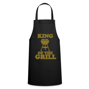 Black king of the grill  Aprons