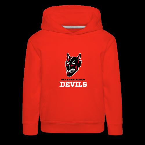 Hoodie Little Devil Red - Kinder Premium Hoodie
