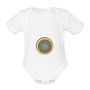 Sun - Baby bio-rompertje met korte mouwen