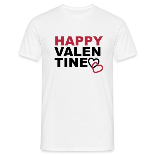 I love my Darling, Happy Valentine, Valentinstag - Männer T-Shirt