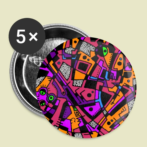 Pattern Button 1 - Buttons large 56 mm
