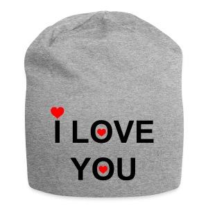 i love you - Jersey-Beanie