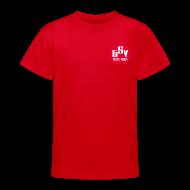T-Shirts ~ Teenager T-Shirt ~ Kinder T-Shirt Logo TSV rot