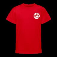 T-Shirts ~ Teenager T-Shirt ~ Kinder T-Shirt Logo TSV weiß