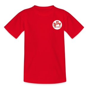 Kinder T-Shirt Logo TSV weiß - Teenager T-Shirt