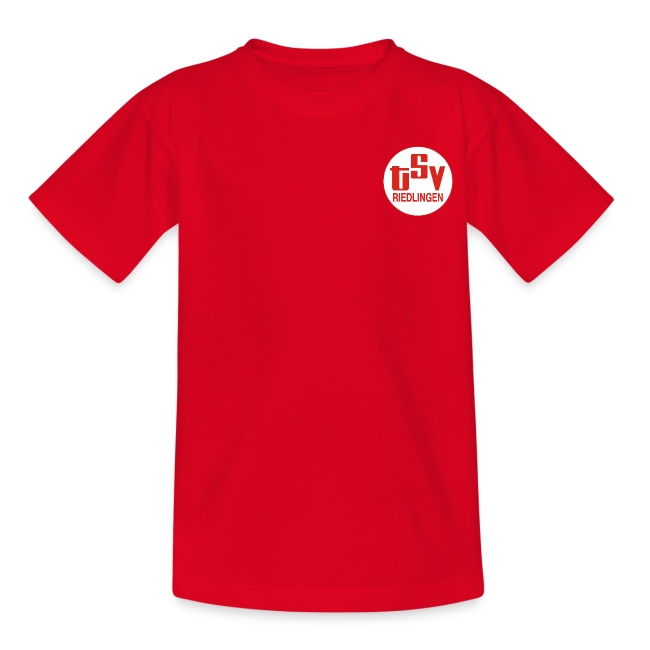 Kinder T-Shirt Logo TSV weiß