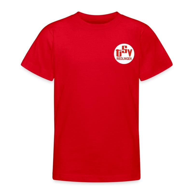 Kinder T-Shirt Logo TSV weiß - Teenager T-Shirt