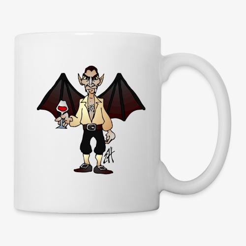 Mug blanc - vampire