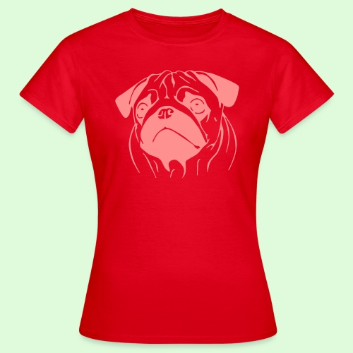Pug, le Carlin - T-shirt Femme
