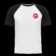 T-Shirts ~ Männer Baseball-T-Shirt ~ Männer kurz Baseball-Shirt TSV  logo rot
