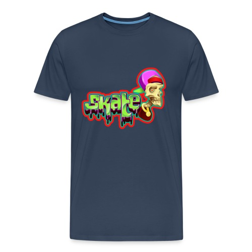 Skate Skateboarding T-Shirt - Männer Premium T-Shirt
