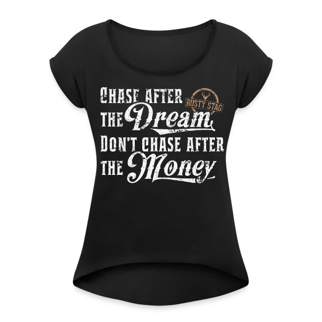 Chase The Dream Ladies Scoop Neck