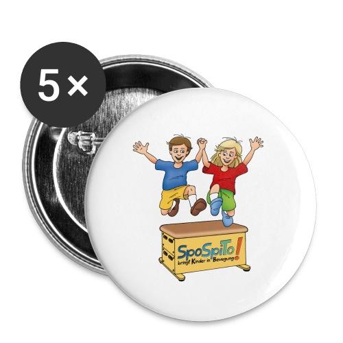 SpoSpiTo-Button für Kinder - Buttons mittel 32 mm