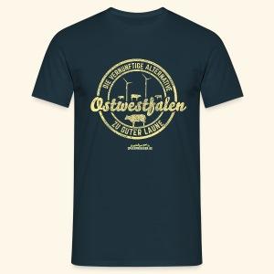 lustiges Ostwestfalen T-Shirt, distressed