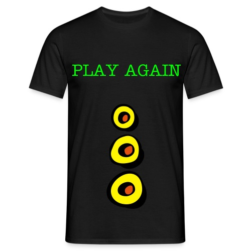 PLAY AGAIN t shirt - T-shirt Homme