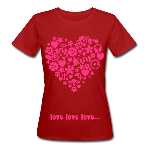love is in the air - Women's Organic T-Shirt
