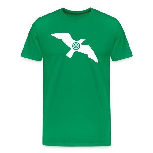 Nei til Kebabmåsen! (Gutt) - Premium T-skjorte for menn