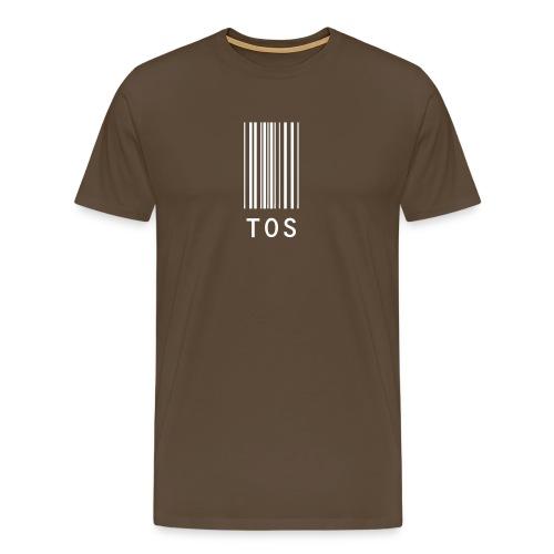 Flybilletten (Gutt) - Premium T-skjorte for menn
