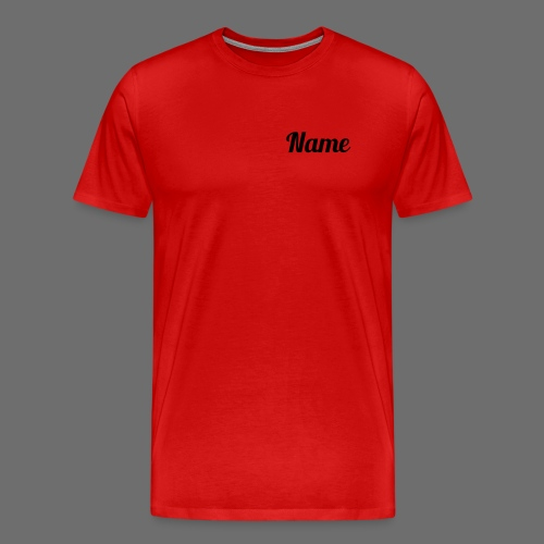 T-Shirt 1 (black text) - Männer Premium T-Shirt