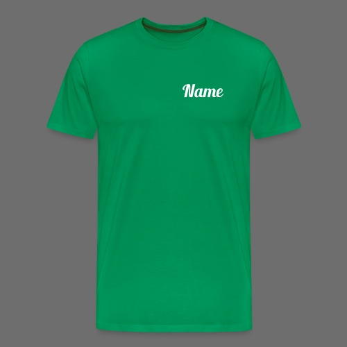 T-Shirt 1 (white text) - Männer Premium T-Shirt