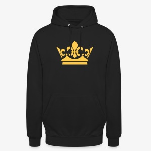 Krone Crown Gold Party Hoodie Pullover alle Farben - Unisex Hoodie