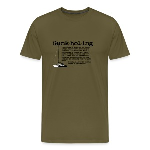 Gunkholing Definition - Männer Premium T-Shirt