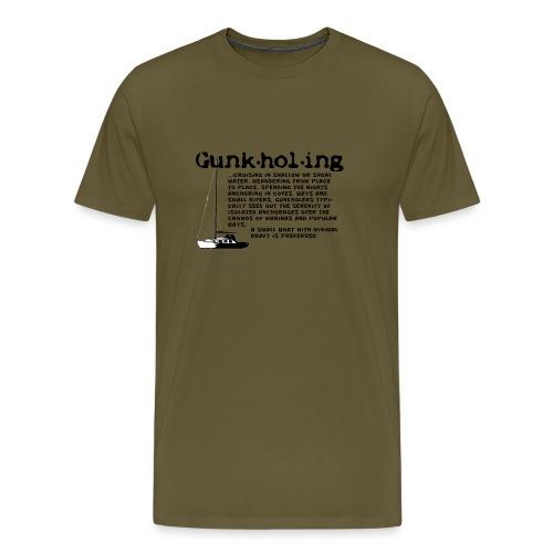 Gunkholing Definition - Männer Premium T-Shirt