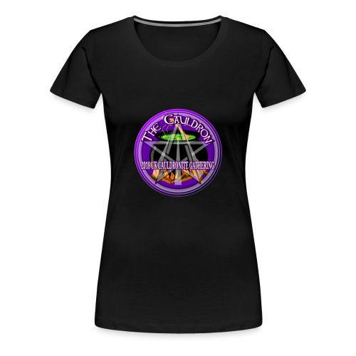 UK Cauldronite Gathering 2018 Womens T - Shirt - Women's Premium T-Shirt