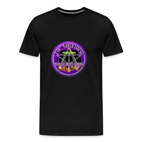 UK Cauldronite Gathering 2018 Mens T - Shirt - Men's Premium T-Shirt