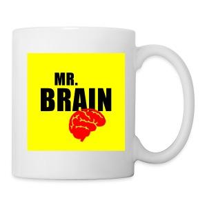 Mok - een leuke  mok met een mr. brain plaatje erop