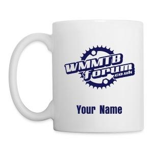 Personalised WMMTB Forum mug (navy print) - Mug