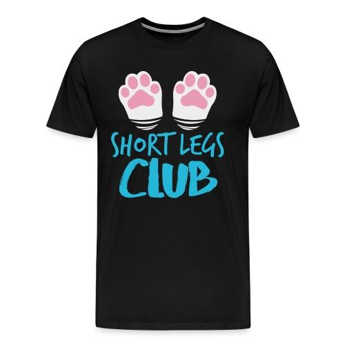 Short Legs Club - Männer Premium T-Shirt