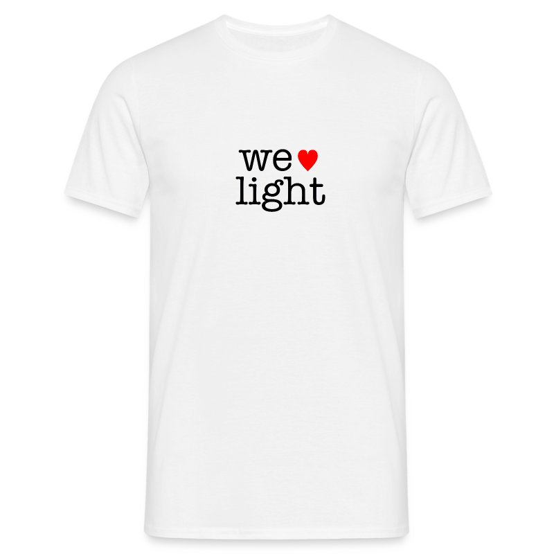 we love light - Men's T-Shirt