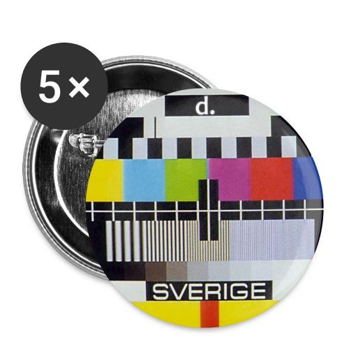 Dpoint TV - Små knappar 25 mm