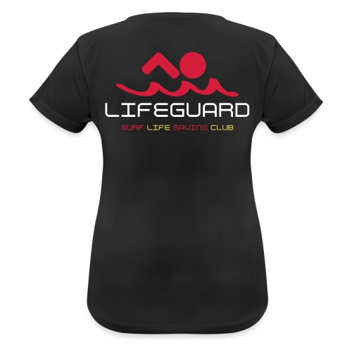 LADIES - LIFEGUARDs only - Club Lifeguard top - Women's Breathable T-Shirt