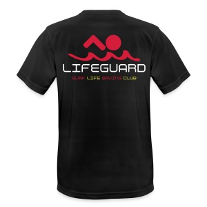 MENS - LIFEGUARDs only - Club Lifeguard top - Men's Breathable T-Shirt