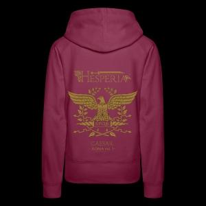 HESPERIA Caesar (Roman Eagle 1st version)-girlie hoodie sweat shirt - Women's Premium Hoodie