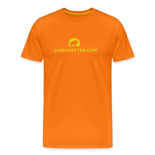 Jagdwetter.com T-Shirt - Männer Premium T-Shirt