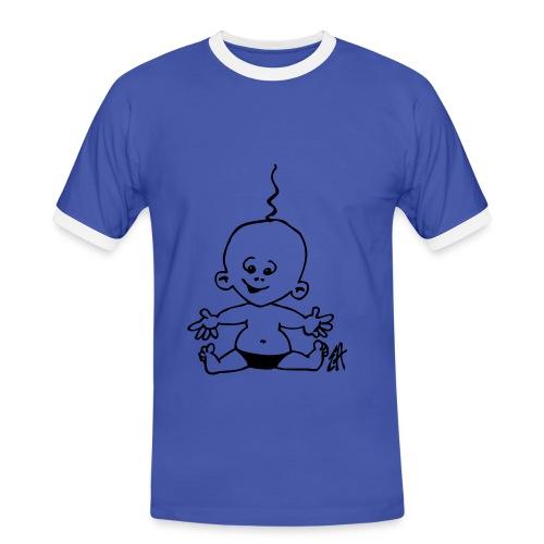 TWO SIDES 2 - Herre kontrast-T-shirt