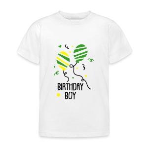 T-Shirt: Birthday Boy  - Kinder T-Shirt
