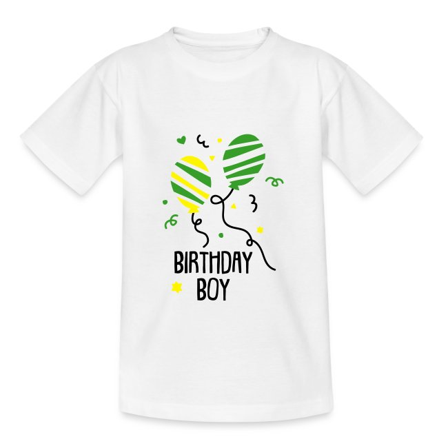 T Shirt Birthday Boy