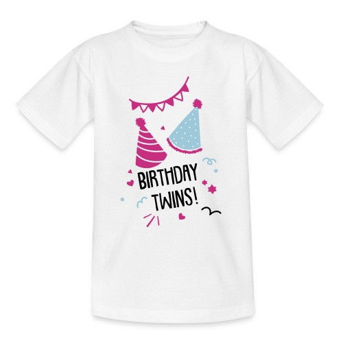 Birthday-Twins: Couple  - Kinder T-Shirt