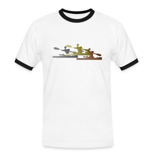 Camiseta Vintage Hombre Podium - Camiseta contraste hombre
