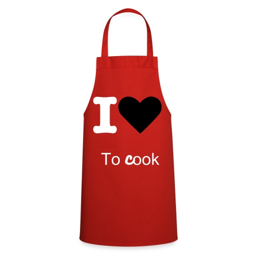 I love to cook - Fartuch kuchenny