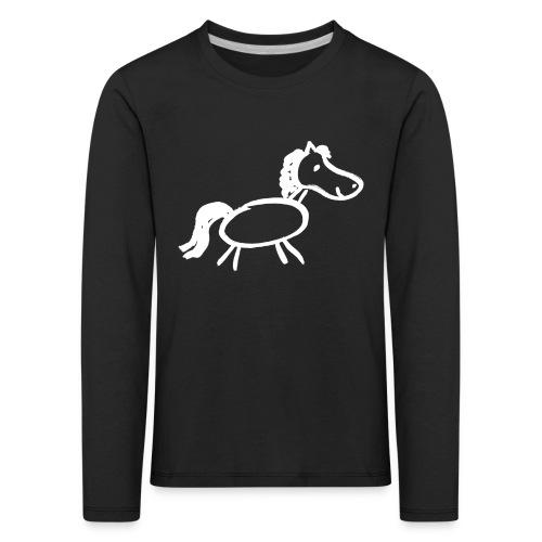 Kids-Shirt Chaospony - Kinder Premium Langarmshirt