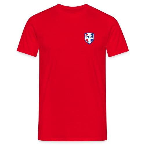FC PAPA (voor- en achterzijde bedrukt) - Mannen T-shirt
