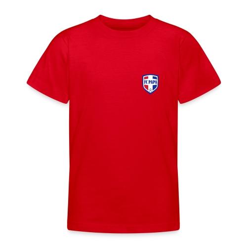 FC PAPA kindershirt (voor- en achterzijde bedrukt) - Teenager T-shirt