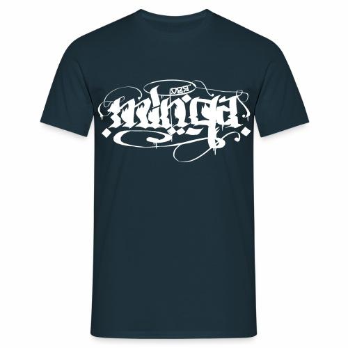 Minga 089 Kalligrafie  - Männer T-Shirt